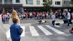 Dancing in the Street. Foto: Ole Foss.