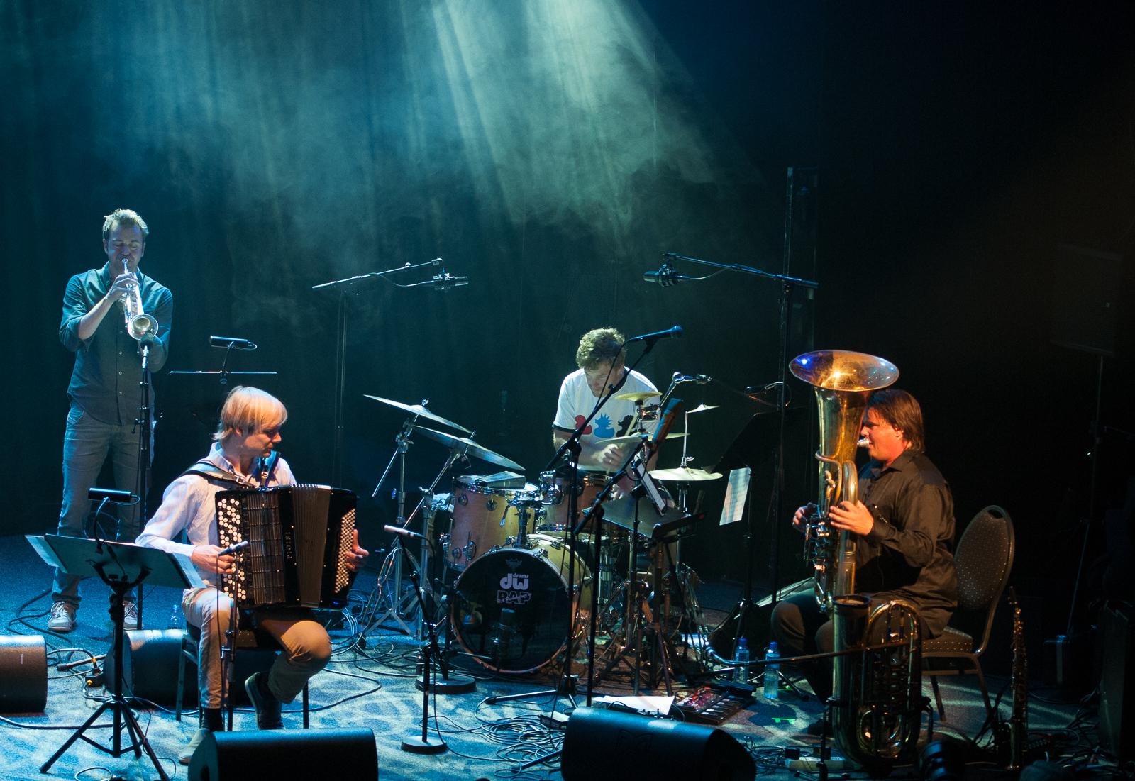 Lar Andreas Haug band. Foto: Andreas Jørgensen