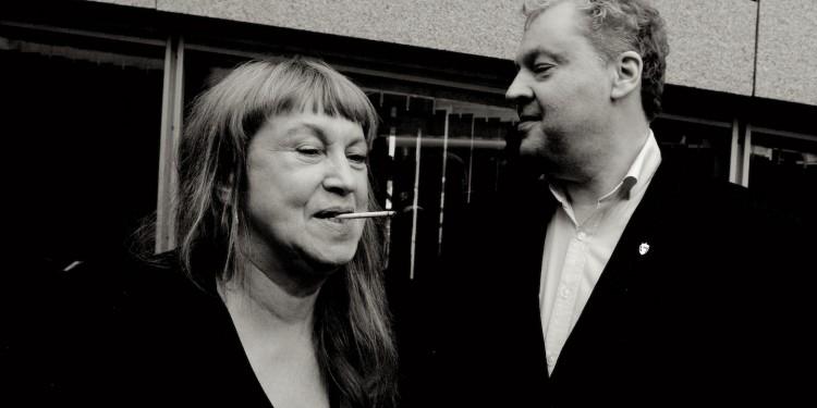 Sidsel Endresen og Anders Eriksson. Foto: CF Wesenberg.