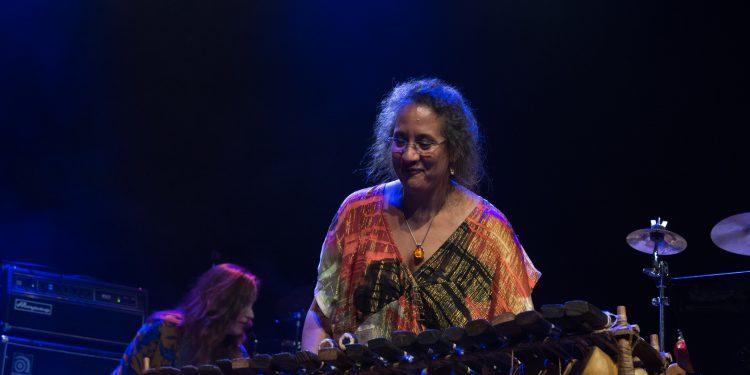 Marilyn Mazur Foto: Roar Vestad