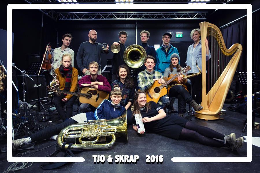 TJO og skrap. Foto: Andre Løyning
