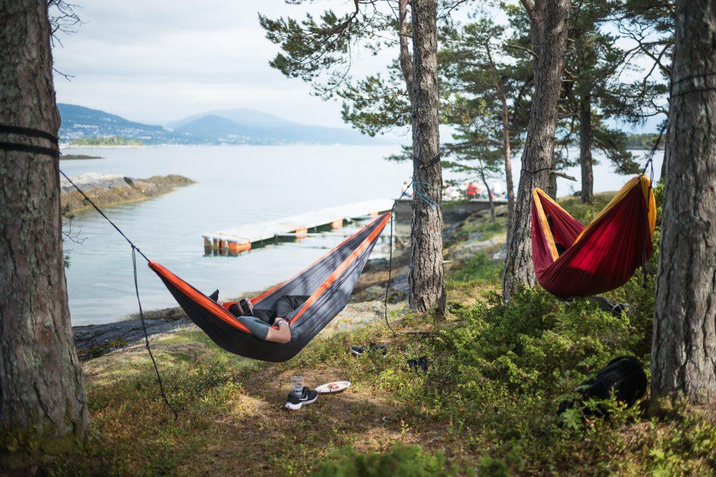 Jazzfolket overnatter gjerne i sovepose for en plass i disse. Foto: Kjetil Valstadsve