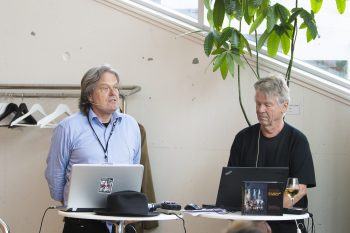 Johan Hauknes og Harald Opheim