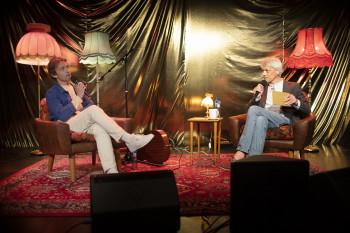 Sondre Lerche intervjues av Audun Vinger på Festivalakademiet
